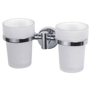 Ledeme L1708 Держатель с двумя стаканами (стекло)