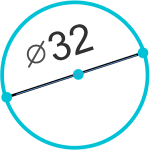 Труба d=32mm