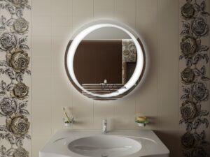 зеркала в ванную, зеркало в ванную