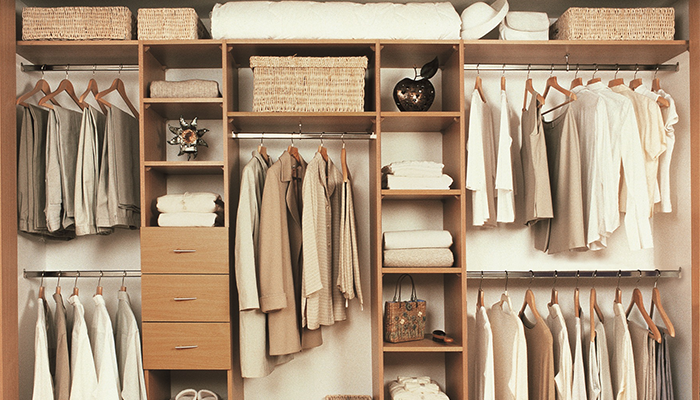 Шкаф - купе и наполнение гардероба