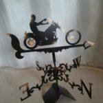 Флюгер Мотоциклист 1