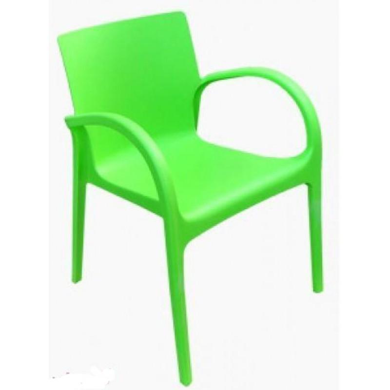 stul gektor zeleniy 800x800 Садовые столы и кресла из ротанга – азиатская «изюминка» в дачном интерьере