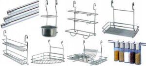 Рейлинг для кухни и аксессуары